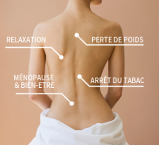 Luxopuncture perte de poids relaxation mantes menopause tabac