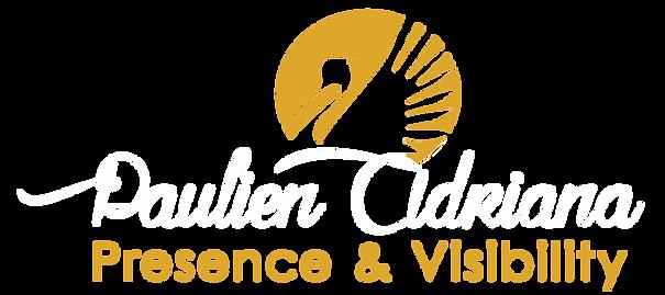 Logo Paulien presence & visibility wit.p