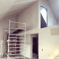 Loftet tar form