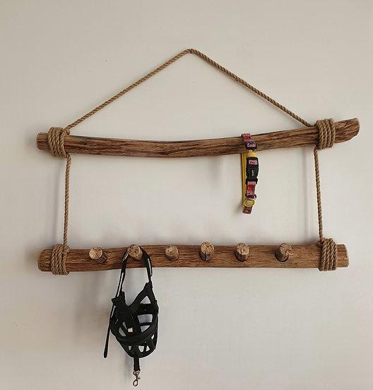 Porte colliers/laisses avec crochets