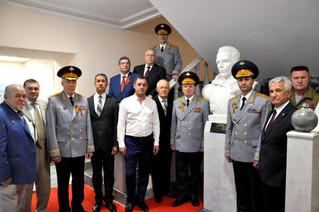Открытия памятника Николаю Кузнецову