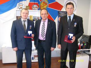 Вручение медалей к 100-летию