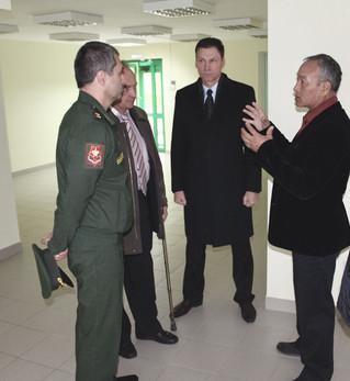 Открытие реабилитационного центра