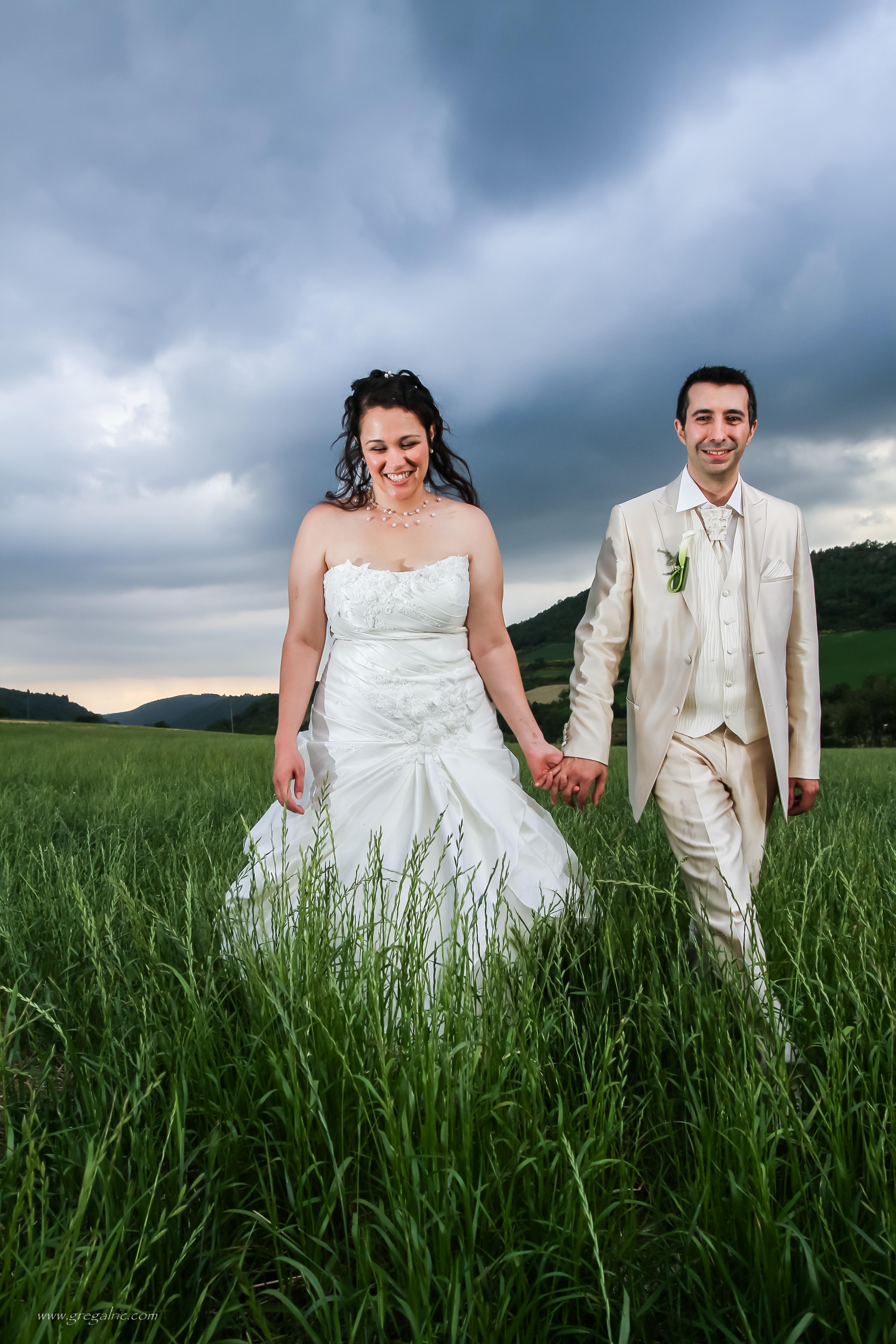 Mariage sous l'Orage