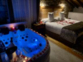 Hotel con Jacuzzi en la habitación