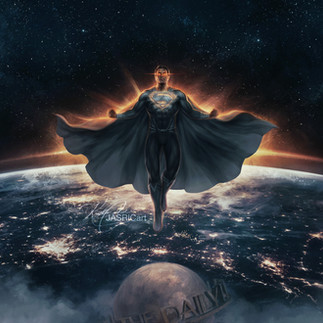 JL - Superman Black Suit