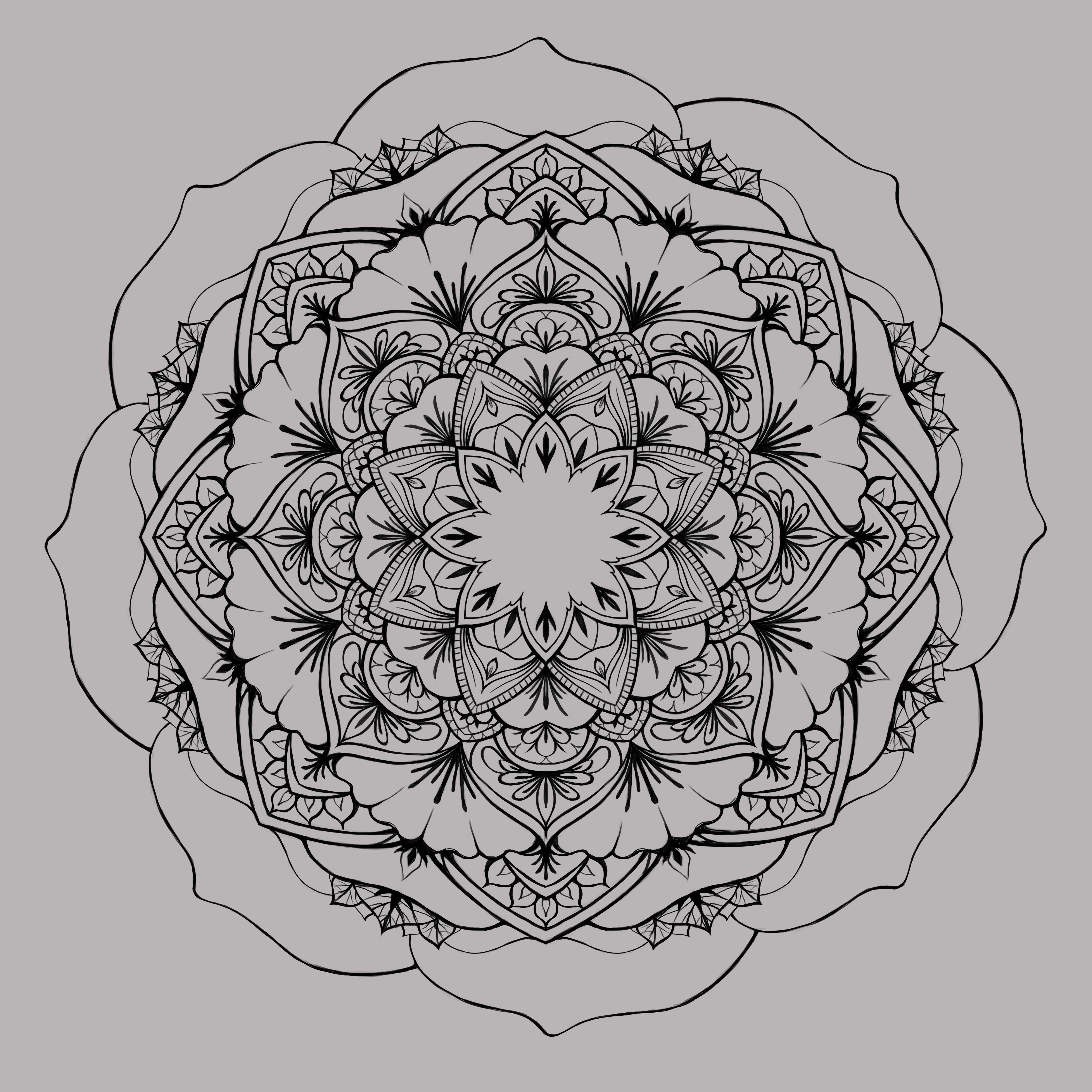rosemandala
