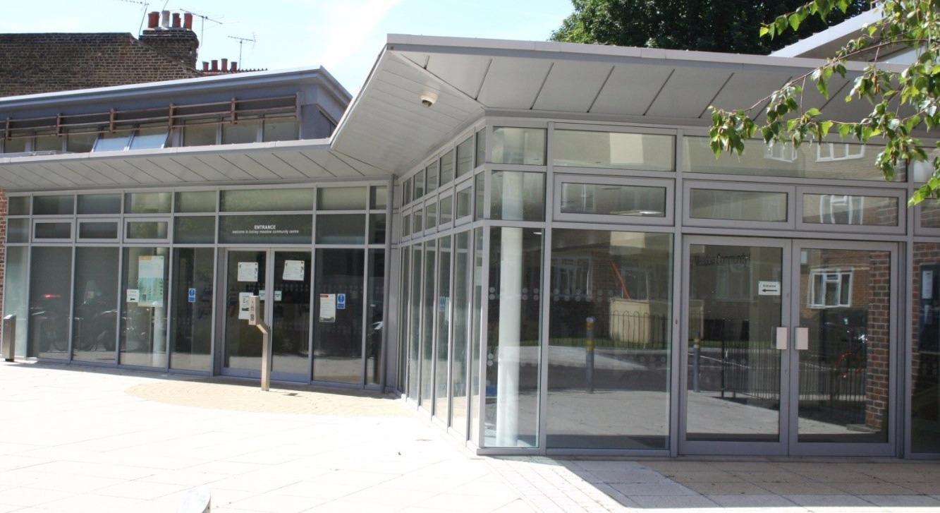 Bolney Meadow Centre - External view