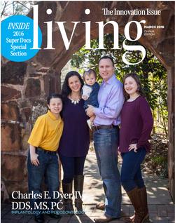 Living Magazine cover photographer