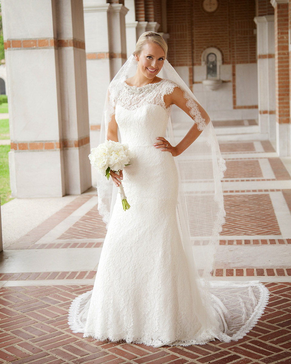 Rice University Bridals - Natalie