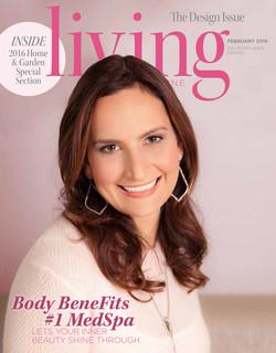 Living Magazine cover