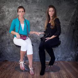The two Amandas