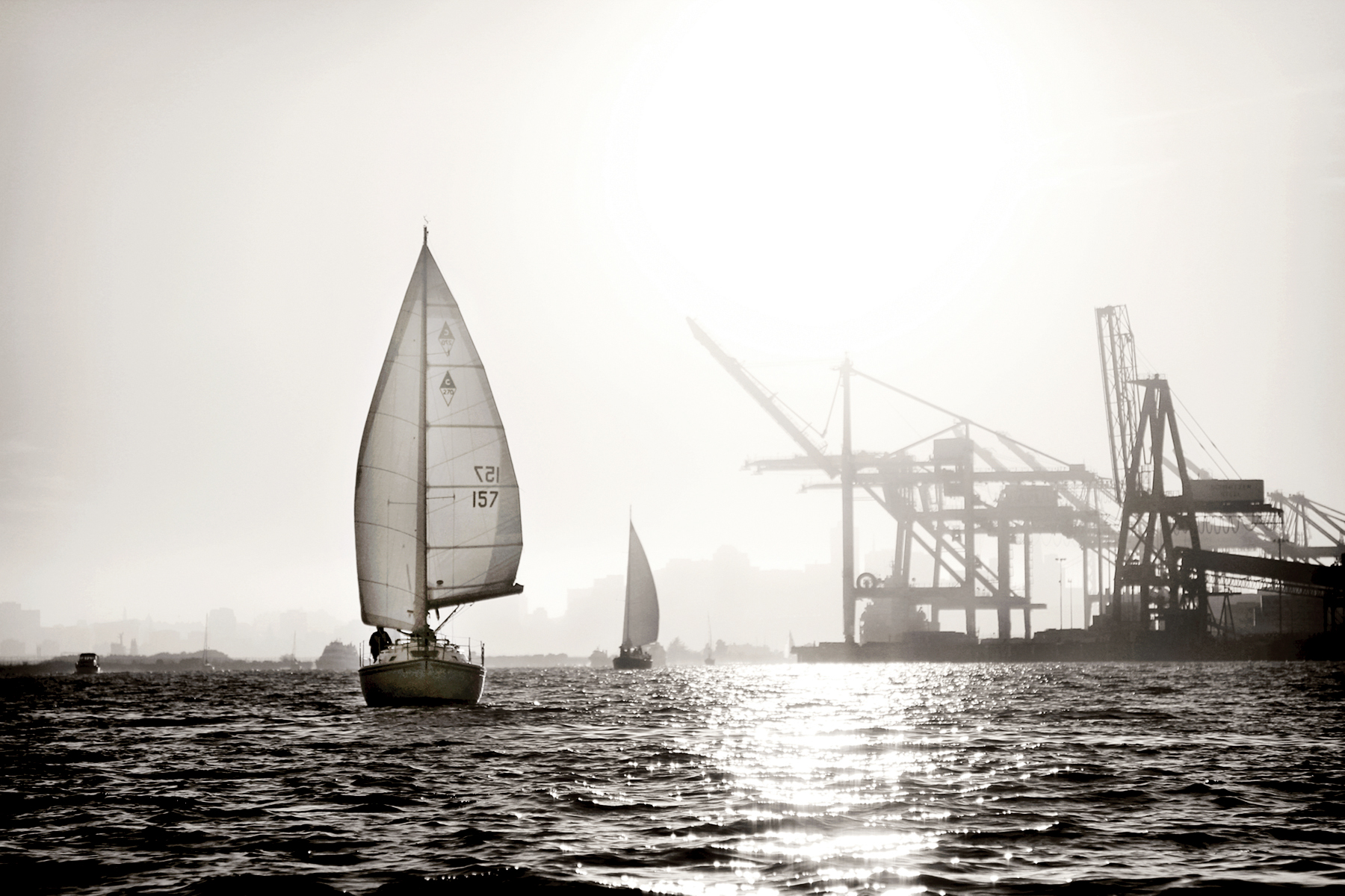 Oakland Harbor, 2012