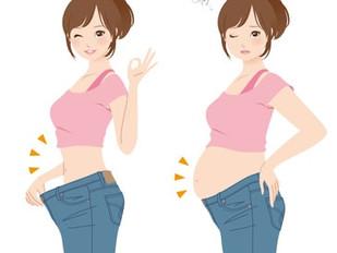 妊娠・産後の体重変化