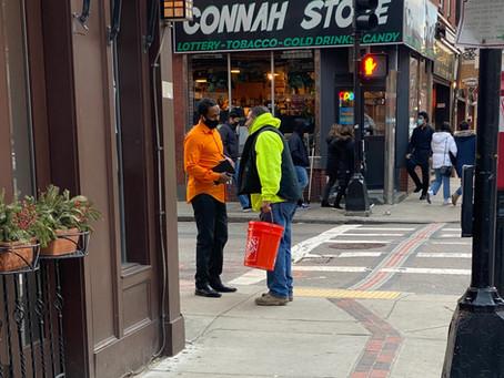Boston City Council At-Large Candidate Said Abdikarim visits The North End