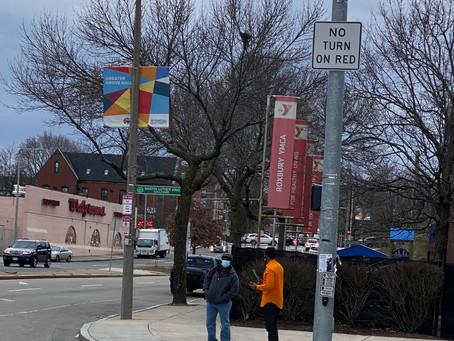 Boston City Council At-Large Candidate Said Abdikarim visits Roxbury