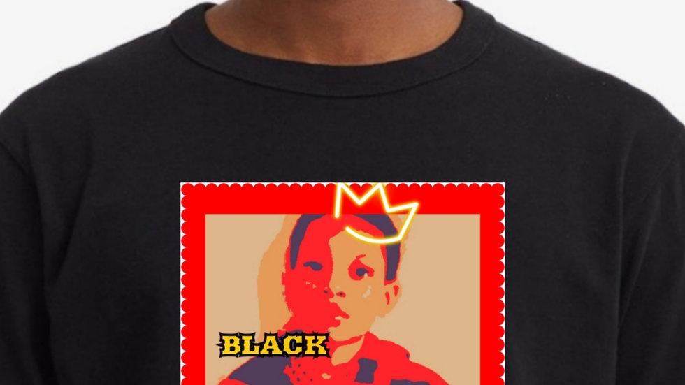 Black King Drip T Shirt