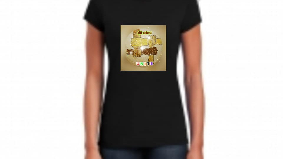 All Colors Unite Tee Adult Size (Color)