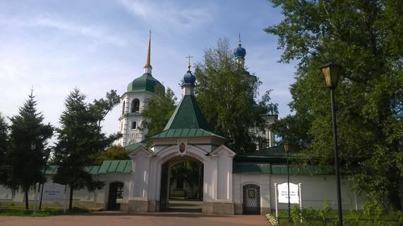 Знаменский женский монастырь город Иркутск