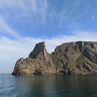 Мыс Хобой остров Ольхон