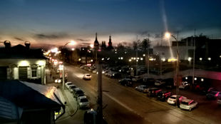 Ночной Иркутск. Чтобы увидеть это место, просто позвоните: 8-3952-67-66-90 и закажите экскурсию.