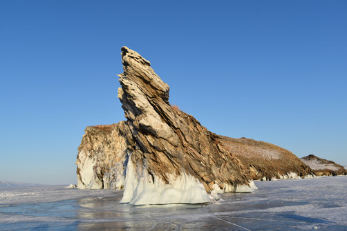Остров Огой. Пролив Малое море озера Байкал