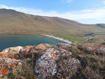 Бухта Ая Тажеранская степь озеро Байкал