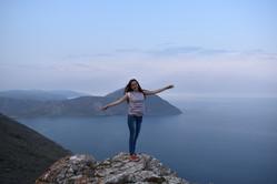 Тажеранская степь озеро Байк