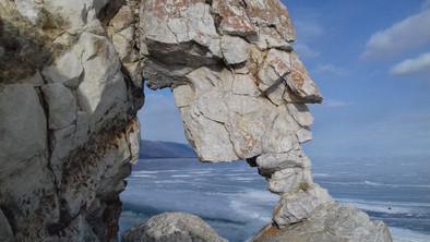 Мыс Курминский. Пролив Малое море Байкала