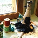 Poule qui tricote