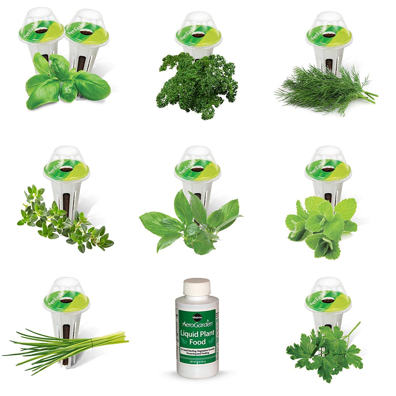 AeroGarden Gourmet Herb Seed Pod Kit 9 p