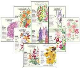 Botanical Interests Deer-Resistant Flower Mix - Seeds