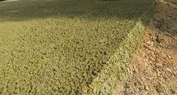 Pavimentazione in cls colorato