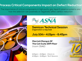 Come visit ASNA Semicon Technial Session at Marriott Marquis SF Coit Suite (by invitation only)