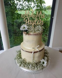 Buttercream wedding cake