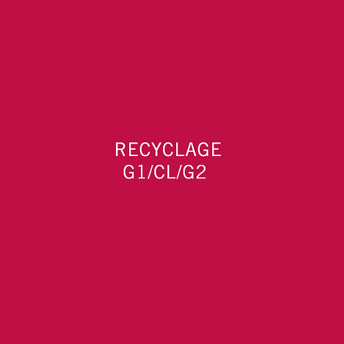 Recyclage G1/CL/G2