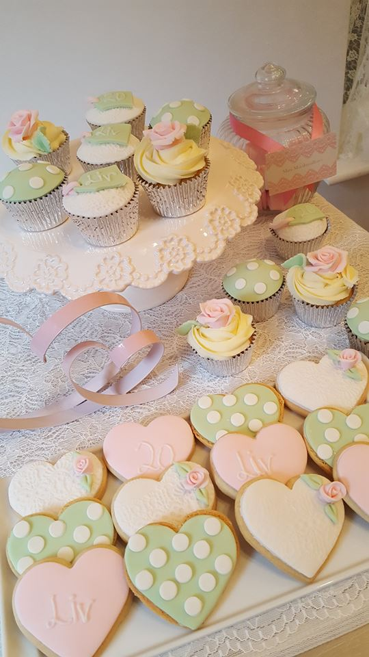 ices biscuits and cupcakes