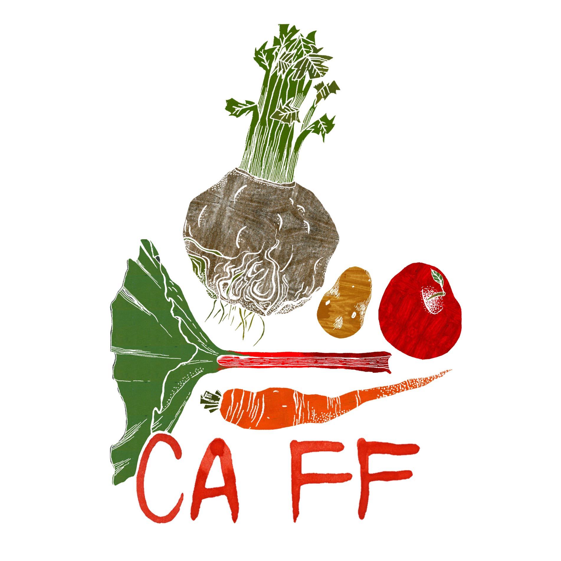 CAFF logo farver