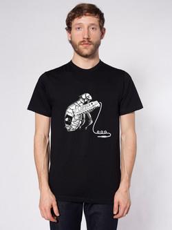 T-shirt grafik, Musikloppen