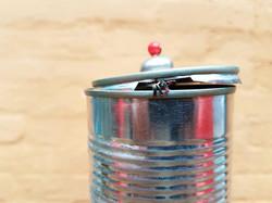 Birthday stripper in a can