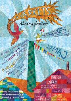 Plakat A2, Åbningsfestival Makværket