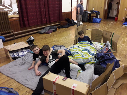 Discoverers Wee Sleepout 2019
