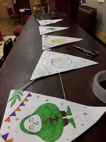 Wee Sleepout bunting