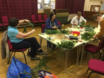 Wreathmaking evening 2019