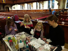 Christmas crafts at the 2019 Festival