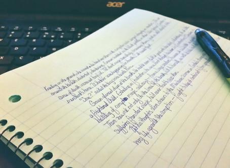 Coffee Shop Writing