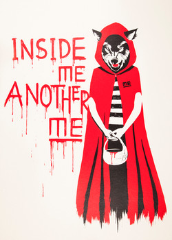 ME INSIDE ME ANOTHER ME STREETART