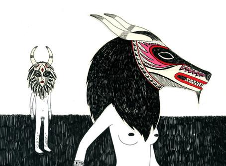 """PRUNELLE - Einzelausstellung: """"ZIGGY STARDUST - Zeichnungen"""""""