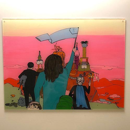 "Original Work ""Die Stadt"" by Katharina Gschwendtner"