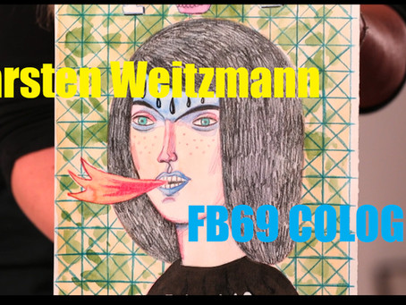 FB69 Cologne Virtual ArtSpace Live Stream - Carsten Weitzmann - May, 2nd 9PM